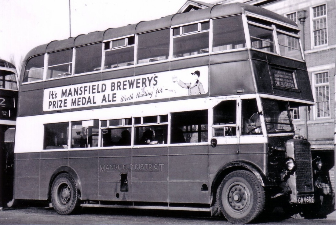 Mansfield district buses midland general omnibus company for Premier garage derby